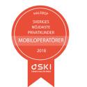 Halebop vinner titeln Sveriges nöjdaste kunder för nionde året