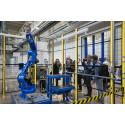 Europeiska MOTOMAN-robotar rullar ut från fabriken i Slovenien