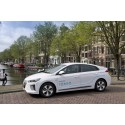 100 Hyundai IONIQ bildar utsläppsfri bilpool i Amsterdam