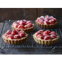 Nationalkagen: Jordbærtærte med nyplukkede danske bær