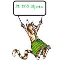 Katten och Gubben firar 20 000 sålda biljetter