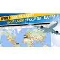 Søk flybilletter etter interesser og budsjett