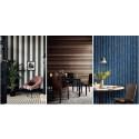 Cole & Son lanserar tapetkollektionen Marquee Stripes  - En lovsång till skönheten i de mest tidlösa mönster som finns.