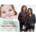 Gudrun Abascal släpper ny bok om graviditet tillsammans med succépodden Vattnet går