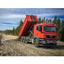 100 000 ton bergmaterial till förbifarten vid Fors