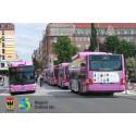 EU-medel för attraktivare busstrafik