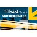 Tillväxt stavas Norrbotniabanan - Kortfakta