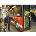Rekordhögt godkännande av bussar