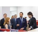 H.K.H. Kronprins Haakon besøker FMC Technologies i St. Petersburg