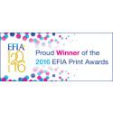 Smurfit Kappa gör rent hus och får 13 utmärkelser vid EFIA print awards