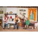 Familjelördag med dockteater och Pettson & Findus
