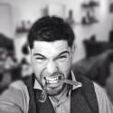 Jac Ludlow (UK) domare i Swedish Barber Expo Barber Battle 2017