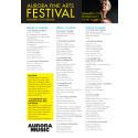 Festivalkalender Aurora Fine Arts Festival 2017
