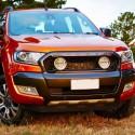 Sverigepremiär på MaskinExpo för Lightforce X-Grill till Ford Ranger