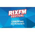RIX FM Festival tillbaka under Linköpings Stadsfest