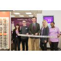 Local MP Mark Lancaster officially opens new optical store in Milton Keynes