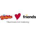 Ballerina blir nationell sponsor åt Friends