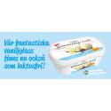 Svenskarnas favoritglass Gammaldags Vanilj nu som laktosfri!