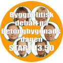 Hur får vi igång byggandet i Sverige? Byggpolititisk debatt 3 oktober.