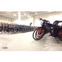 200 jobbpendlare blir testcyklister med elcyklar från EcoRide, Göteborg