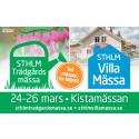 Välkomna våren med Stockholms Trädgård- & Villamässa 24-26 mars 2017!