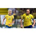 Svenska fotbollslandslagen spelar i Göteborg i juni