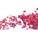 Intensify your pink and red dragees and increase your natural appeal