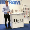 Adrian Salisbury, Key Account Manager for iDeal of Sweden