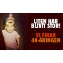 Kungen av grillade burgare firar 40 år i Sverige!