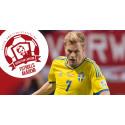 Spela fotboll med Sebastian Larsson!