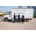 Hellmann and Bergische Achsen KG start field tests with retro-fitted electric motor for commercial vehicles