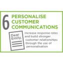 Personalising communications to build customer loyalty