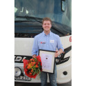 Pär Fransson från Eksjö är Sveriges bästa bussförare 2014