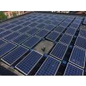 Solceller genererar överskott av energi