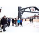 Minister och landshövding inviger Nordenskiöldsloppets nya målportal