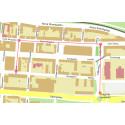 Vägarbete på Tullportsgatan, Östra Storgatan och Björngränd