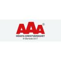 Logiwaste med fortsatt AAA-rating från Bisnode