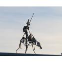 Don Quijote tar en pause på Bøler