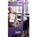 ​Easington septuagenarian takes on zip wire for the Stroke Association