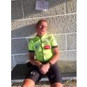 Team FastestXEurope avslutar sitt världsrekordförsök med en cykeletapp på ca 530 km, med rasande skogsbränder runt hörnet