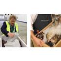Norges statsminister fick se fördelarna med Drypack, unik fisklåda från DS Smith