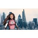 """Sprinkle utvecklar digital kundtjänstfunktion och introducerar """"Miss Sprinkle"""" med superkrafter"""
