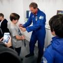 Astronautträff tio år efter rymdresan