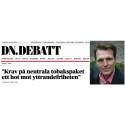 Regeringen får mothugg av Sveriges Annonsörer i tobaksfrågan