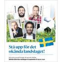 Özz, Måns, Patrick och Soran STÅR UPP för Det Okända Landslaget