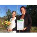 Barnens miljöskola Eco Friends får hedersomnämnande av kommunen