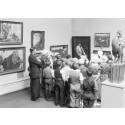 Påminnelse – pressvisning idag av utställningen Museet/The Museum/المتحف