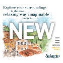 Adagio Launches New Range of Leisurely Holidays on foot.