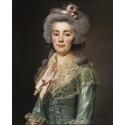 3040. A. Roslin, Portrait présumé de Mlle de Fontenay