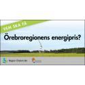 Dags att nominera till länets energipris!